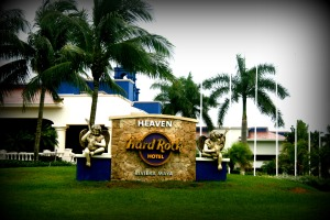 Hard Rock Hotel main entrance